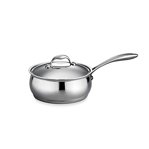 Tramontina® Gourmet Domus 3-Quart Covered Saucepan in Stainless Steel