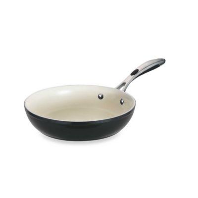 Tramontina® Gourmet Ceramica Deluxe Porcelain Enamel 10-Inch Fry Pan in Metallic Black