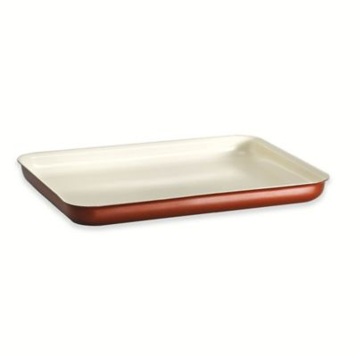 Tramontina® Style Ceramica Porcelain Enamel 16-Inch by 11-Inch Baking Tray