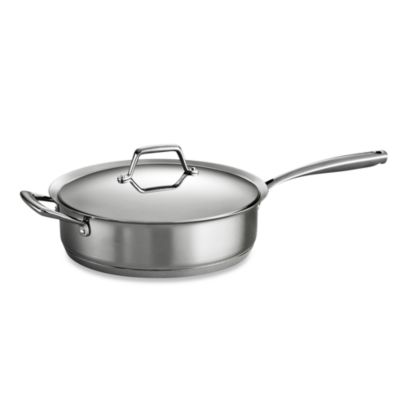 Tramontina® Gourmet Prima Stainless Steel 5-Quart Covered Sauté Pan