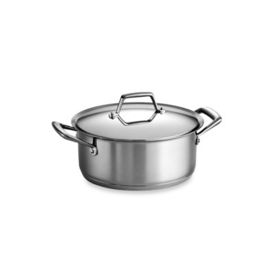 Tramontina® Gourmet Prima Stainless Steel 5-Quart Covered Dutch Oven
