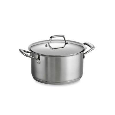 Tramontina® Gourmet Prima Stainless Steel 6-Quart Covered Sauce Pot