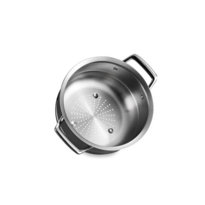 Tramontina® Gourmet Prima Stainless Steel Steamer Insert for 9.5-Inch Pans