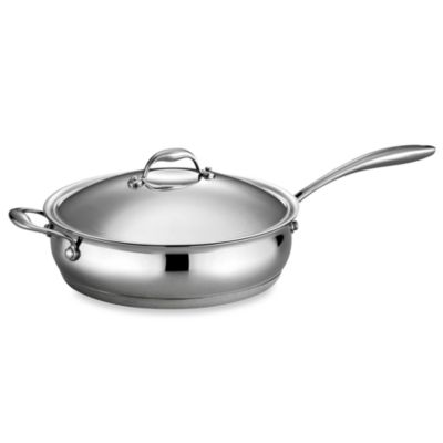 Tramontina® Gourmet Domus 5-Quart Covered Deep Sauté Pan