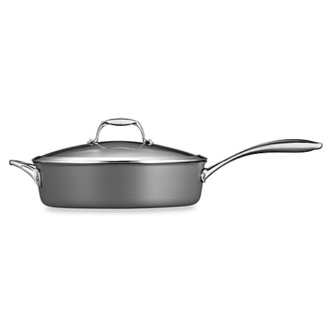 Tramontina® Gourmet Hard Anodized 5.5-Quart Covered Sauté Pan