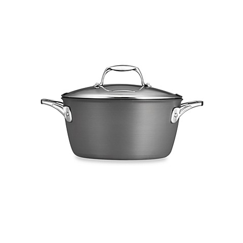 Tramontina® Gourmet Hard Anodized 5-Quart Covered Dutch Oven