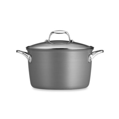 Tramontina® Gourmet Hard Anodized 8-Quart Covered Stock Pot