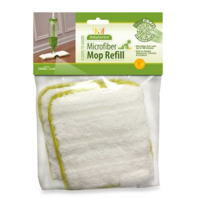 Cleaning Products > BabyGanics® Floors to Adore Microfiber Mop Pad Refill