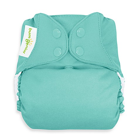 bumGenius™ Freetime Cloth Diaper with Snap Closure in Mirror