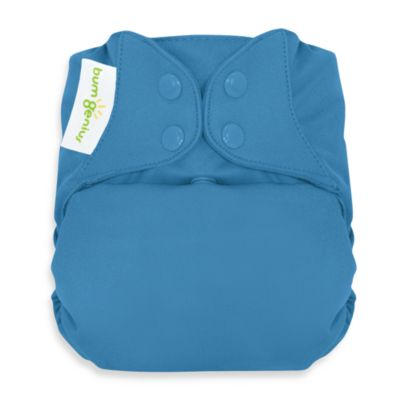 bumGenius™ Freetime Cloth Diaper with Snap Closures in Moonbeam