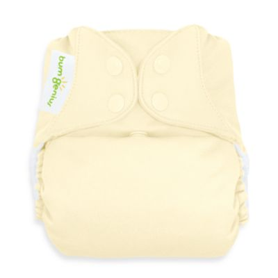 bumGenius™ Freetime Cloth Diaper with Snap Closure in Noodle