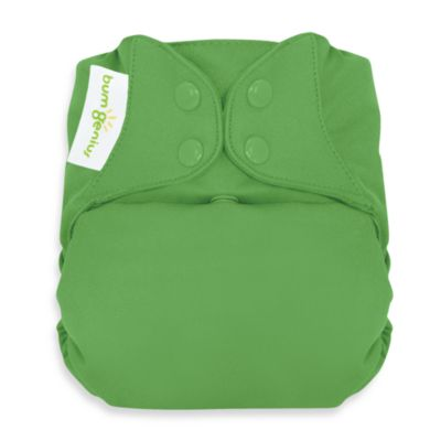 bumGenius™ Freetime Cloth Diaper with Snap Closure in Ribbit