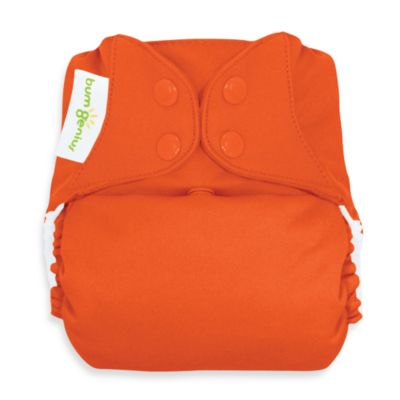 bumGenius™ Freetime Cloth Diaper with Snap Closure in Sassy