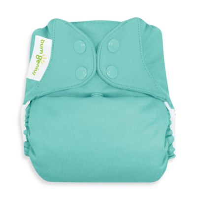 bumGenius™ Cloth Diaper with Snap Closure in Mirror