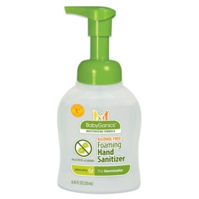 BabyGanics® The Germinator™ Alcohol-Free Foaming Hand Sanitizer in Green Apple