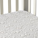 Dream Decor Pebbletex Quilted Waterproof Crib Mattress Pad in Bear