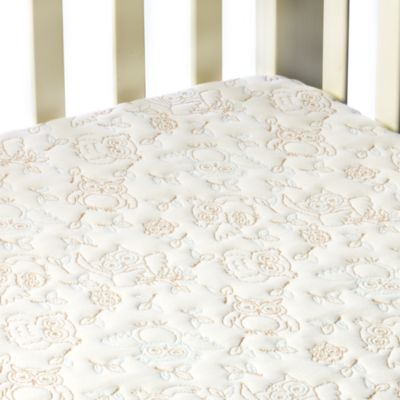 Dream Decor Pebbletex Quilted Waterproof Crib Mattress Pad in Owl