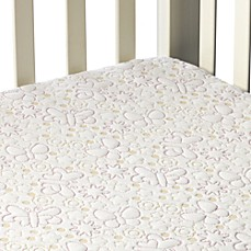 Dream Decor Pebbletex Quilted Waterproof Crib Mattress Pad in Butterfly