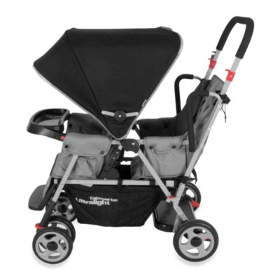 Double Strollers > Joovy® Caboose Too Ultralight Stand-On Tandem Stroller in Charcoal