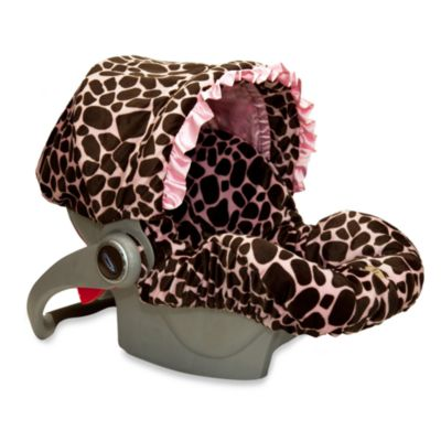 Baby Bella Maya™ Infant Car Seat Cover in Ginny Giraffe
