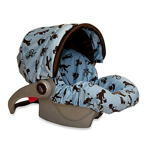 Baby Bella Maya™ Infant Car Seat Cover in Little Boy Blue