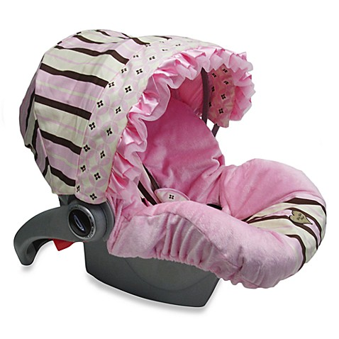 Baby Bella Maya™ Infant Car Seat Cover in Pixie Stix