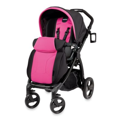 Peg Perego Book Plus Reversible Stroller in Fuchsia
