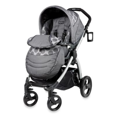 Peg Perego® Book Plus Reversible Stroller in Pois Grey