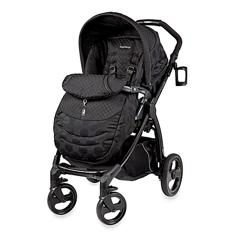 Peg Perego Book Plus Reversible Stroller in Pois Black