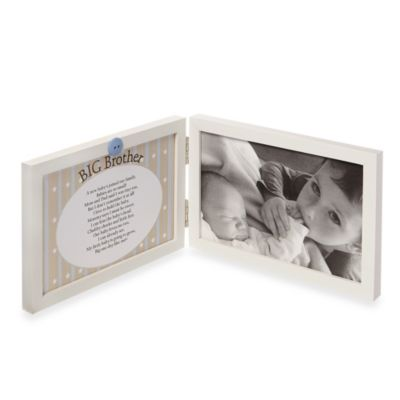 Sweet Something Big Brother 4-in. x 6-in. Photo Frame