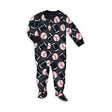 Carter's® Grey Ball Toss Snug-Fit Jersey 1-Piece PJ