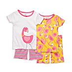 Carter's® Pink Flamingo Snug-Fit Cotton 4-Piece PJs