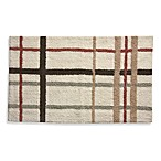 Lacey Blush Plaid Bath Rug