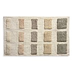 Lacey Neutral Shrinking Boxes Bath Rug