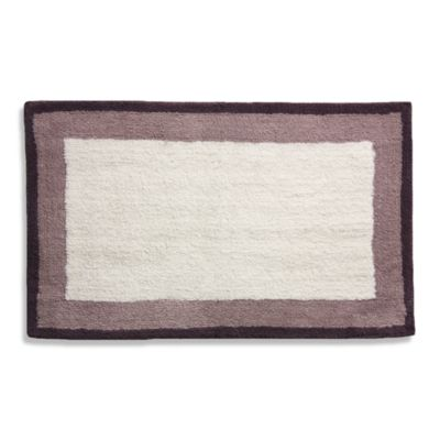 Purple/White Bath Rugs