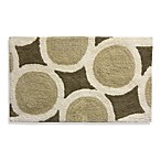 Lacey Brown Large Circles Bath Rug