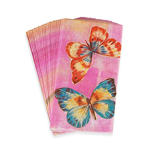 Papilion Spring 3-Pack Guest Towels