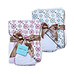 Caden Lane® Modern Vintage Moroccan Hooded Towel and Washcloth Set