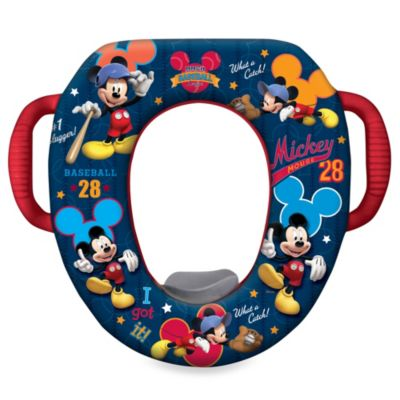 Disney® Soft Potty Trainer Seat in Mickey Mouse