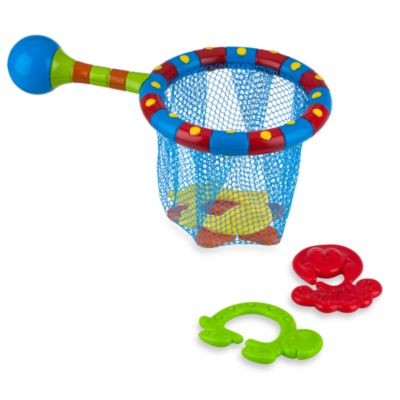Nuby™ Splash 'N Catch Bath Time Fishing Set