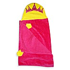 Hooded Towel in Princess Pink & Yellow