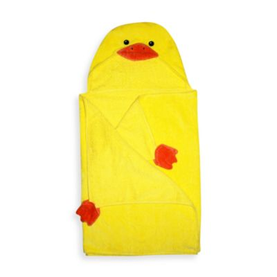 Duck Yellow Hooded Towel