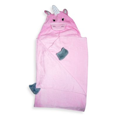 Unicorn Pink Hooded Towel