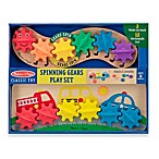 Melissa & Doug® Vehicles and Caterpillar Spinning Gears Play Set