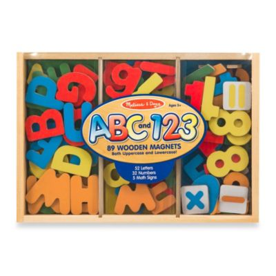 Melissa & Doug® Letters and Numbers Magnetic Bundle