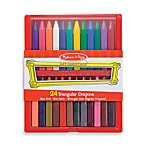 Melissa & Doug® 24-Piece Triangular Crayon Set