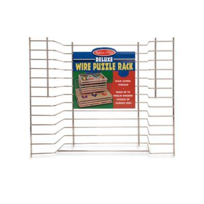 Melissa & Doug® Deluxe Wire Puzzle Rack