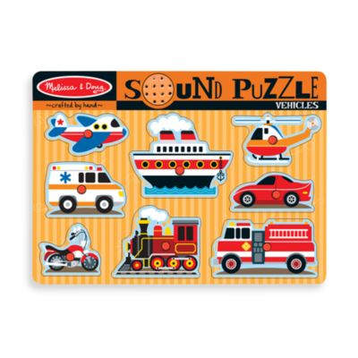 Melissa & Doug® Vehicle Puzzle