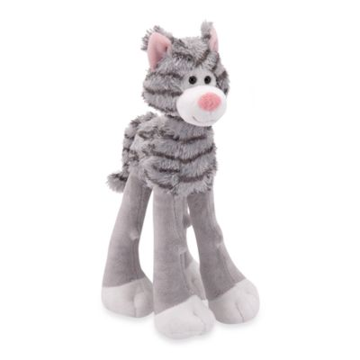 Melissa & Doug® Grey-Striped Lanky Legs Cat Plush