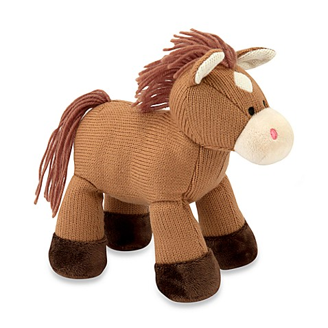 Melissa & Doug® Brown Sweater Sweetie Horse Plush